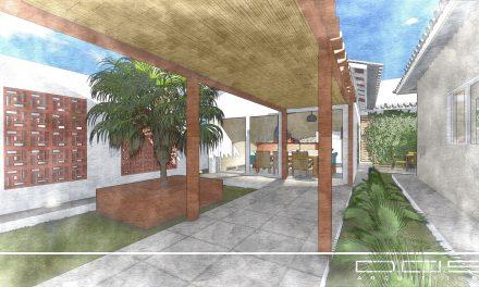 Projeto de Arquitetura para Reforma e Ampliação: Residência F. K.
